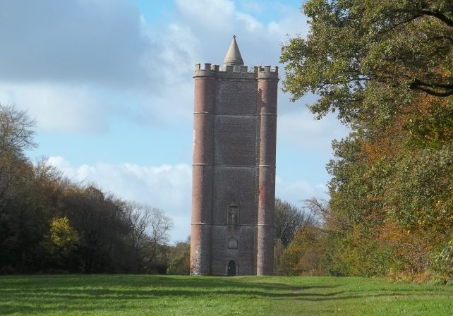 King Alfred's Tower is believed to mark the spot where Alfred rallied his troops
