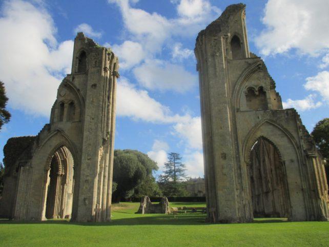 Glastonbury town has an historic Abbey