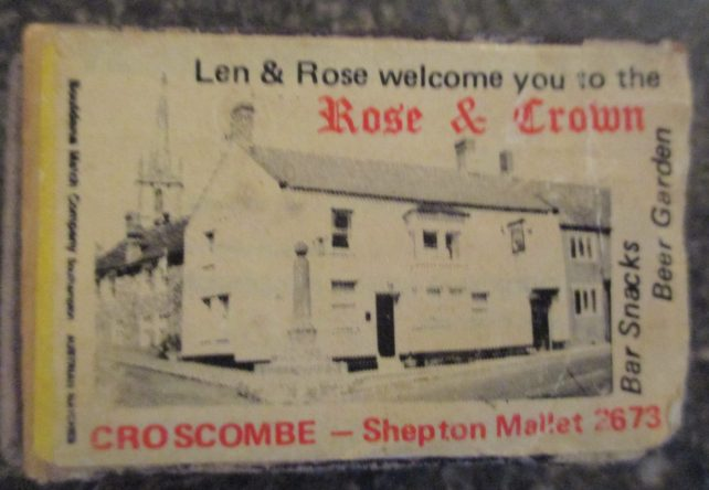 Bed and breakfast in Croscombe Somerset