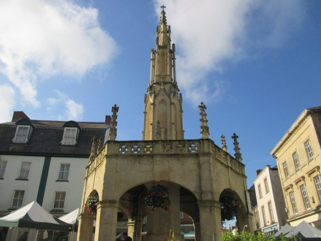 The Market Cross at Shepton Mallet