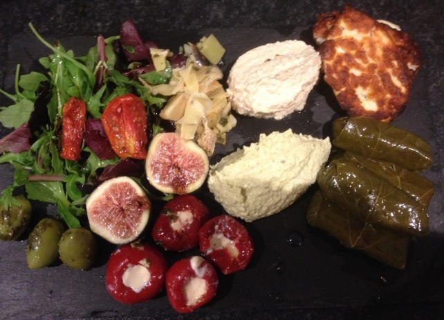 Somerset guest house food platter