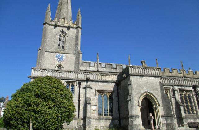St Mary's church in Croscombe