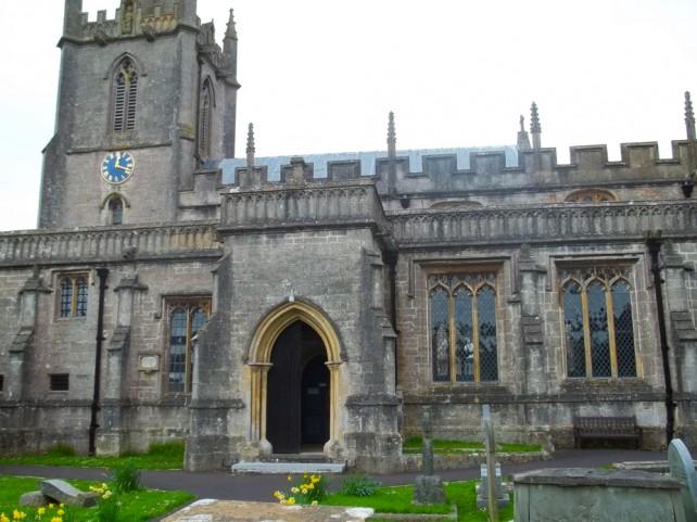 Somerset venue hire, church in Croscombe