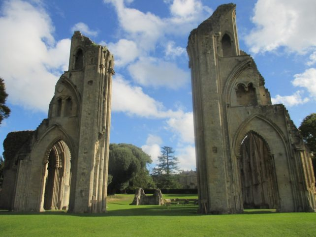 Glastonbury town has an historic Abbey
