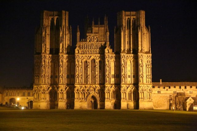 Wells Cathedral and its magnificent West Front