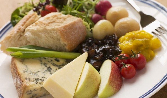 Somerset guest house Ploughman's Lunch